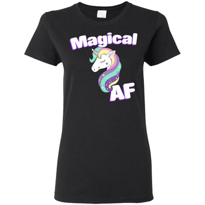 Magical AF Ladies' T-Shirt Apparel Black S