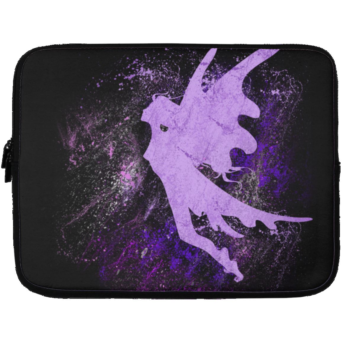 Fairy Splash Laptop Sleeve Apparel Laptop Sleeve - 13 inch Black One Size