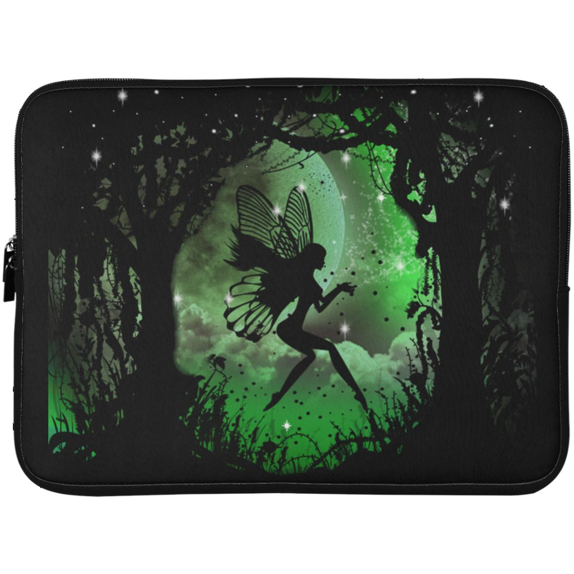 Fairy Laptop Sleeve Apparel Laptop Sleeve - 15 Inch Black One Size
