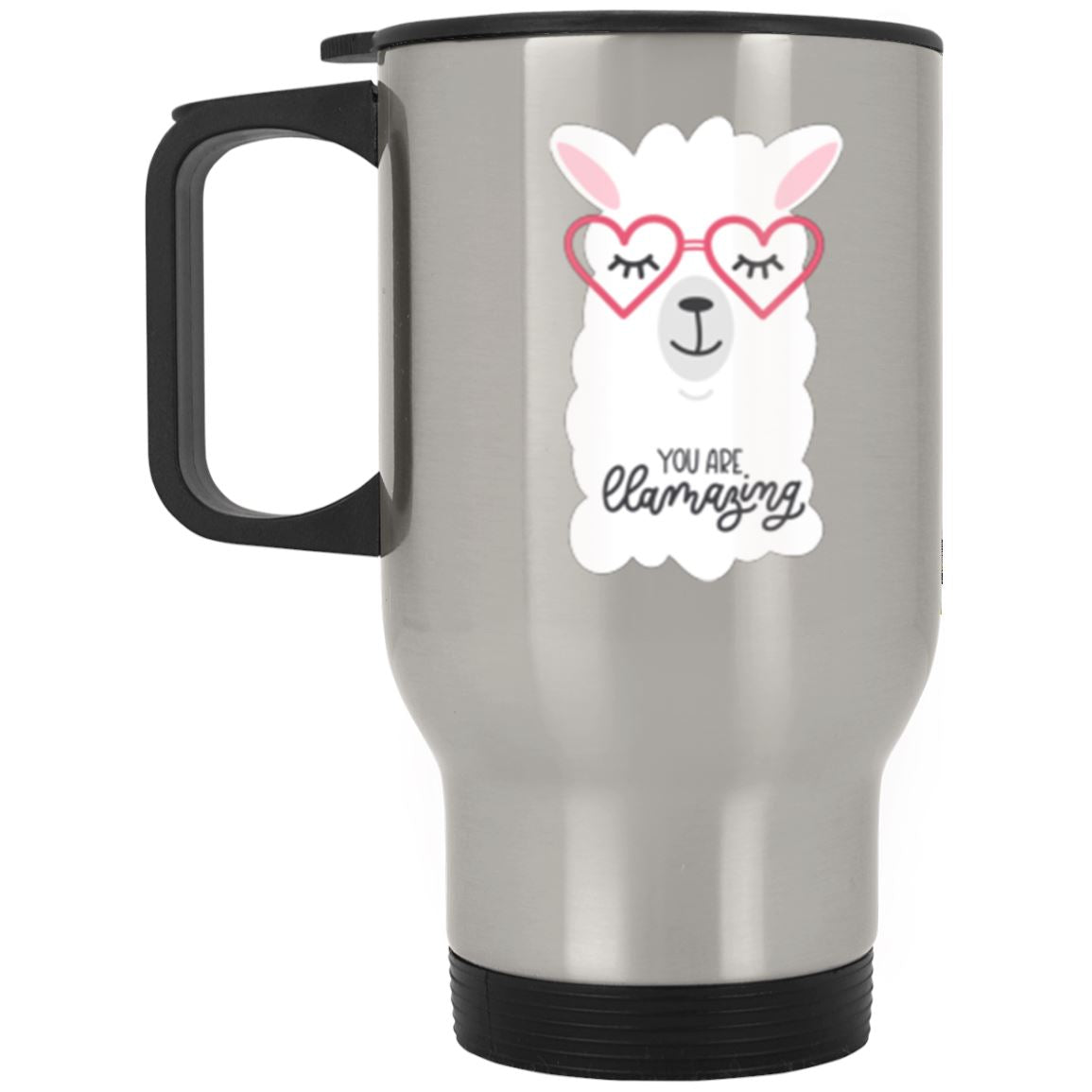 You Are Llamazing Llama Stainless Travel Mug Llama Drinkware One Size
