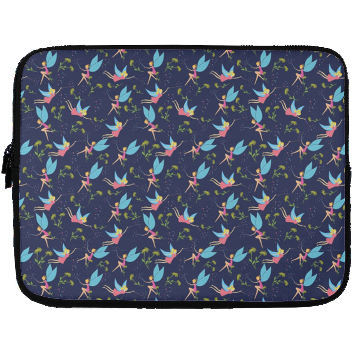 Fairy Fantasy Laptop Sleeve Apparel Laptop Sleeve - 13 inch White One Size