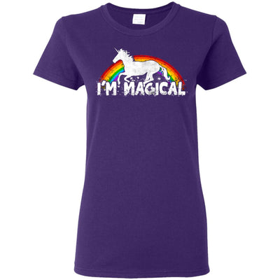 I'm Magical Ladies' T-Shirt Apparel Purple S