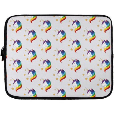 Unicorn Fantasy Laptop Sleeve Apparel Laptop Sleeve - 13 inch White One Size