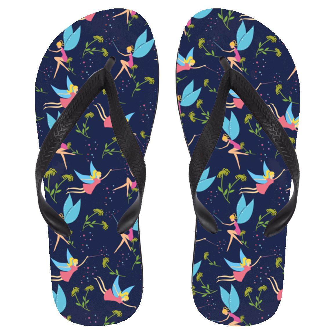 Fairy Flip Flops Apparel Large