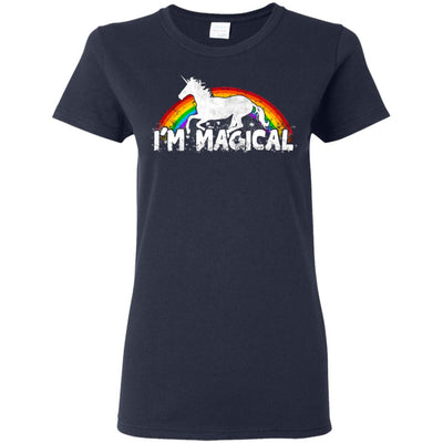 I'm Magical Ladies' T-Shirt Apparel Navy S