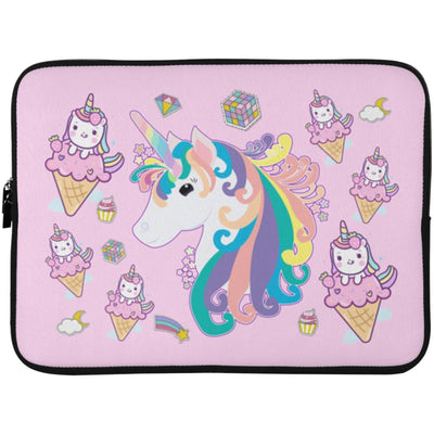 Twinkle Unicorn Laptop Sleeve Case Apparel Laptop Sleeve - 15 Inch