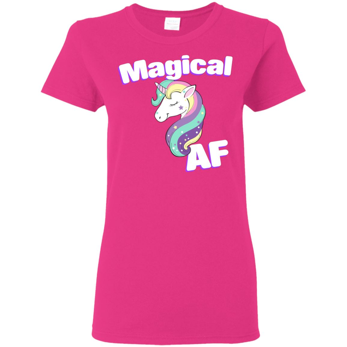 Magical AF Ladies' T-Shirt Apparel Heliconia S