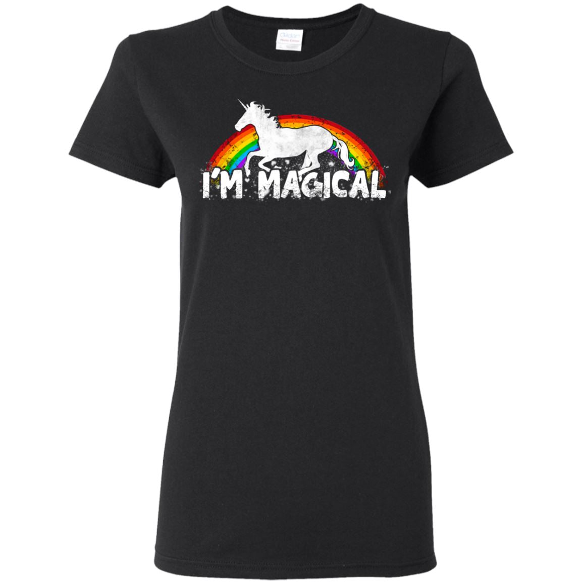 I'm Magical Ladies' T-Shirt Apparel Black S