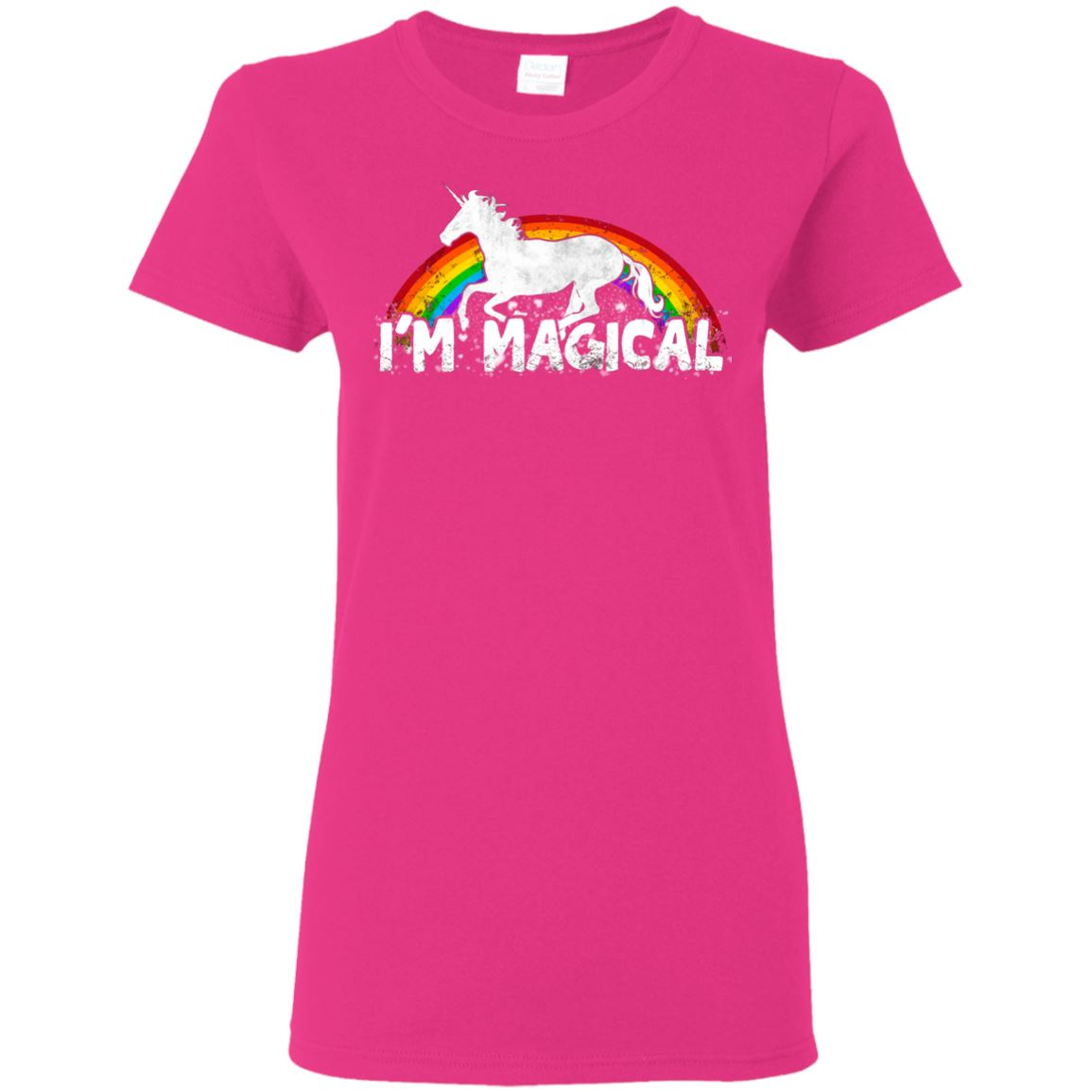 I'm Magical Ladies' T-Shirt Apparel Heliconia S