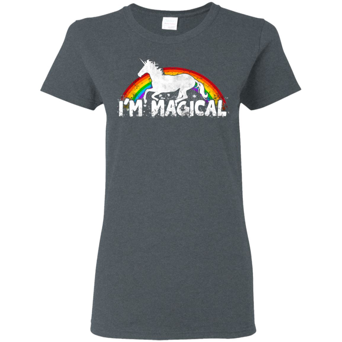 I'm Magical Ladies' T-Shirt Apparel Dark Heather S