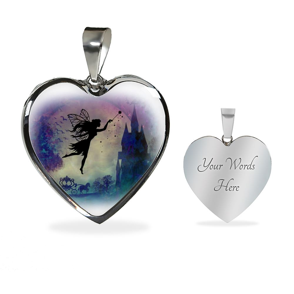 Fairytale Luxury Heart Necklace Jewelry