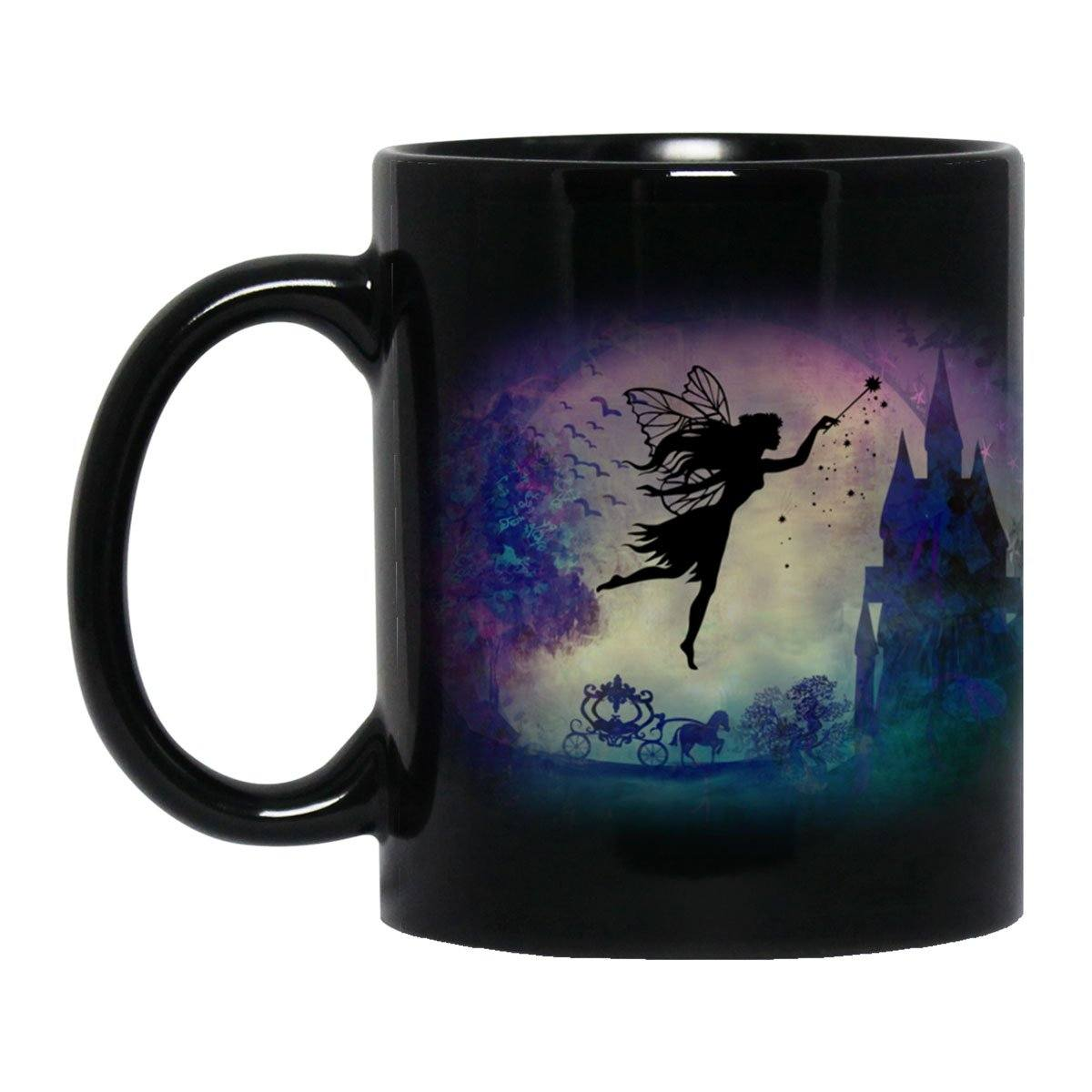 Fairytale Black Mug Drinkware Black One Size