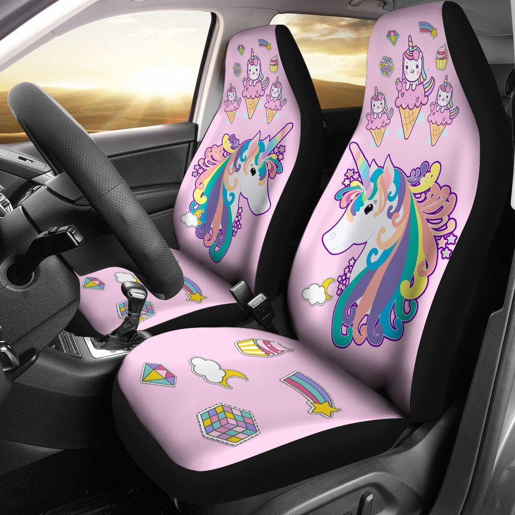 Twinkle Unicorn Car Seat Covers Car Accessories