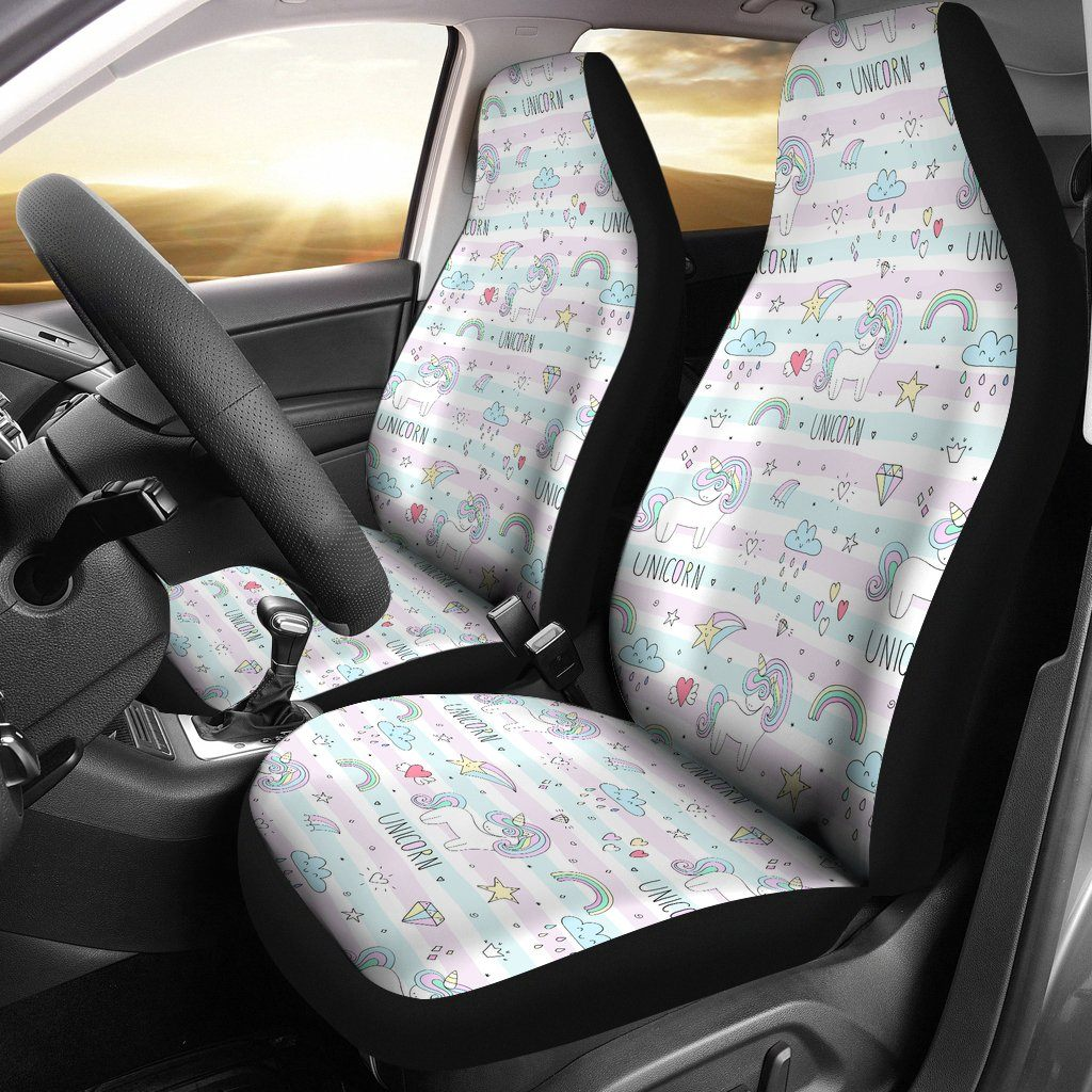 Sweet Unicorn Car Seat Covers Car Accessories