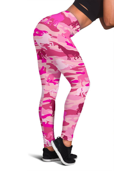 Unicorn Camo Women's Leggings Leggings