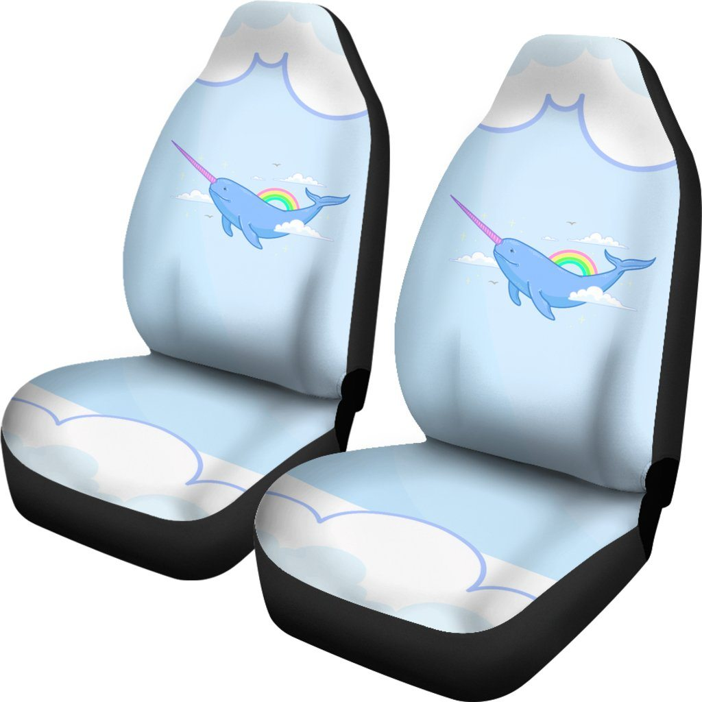 Narwhal Unicorn Car Seat Covers Car Accessories