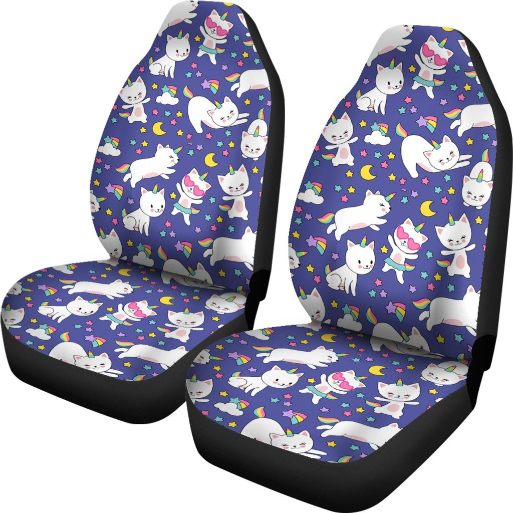 Kitty Cat Unicorn Car Seat Covers Car Accessories