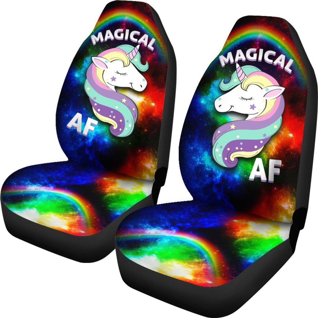Magical AF Unicorn Car Seat Covers Car Accessories