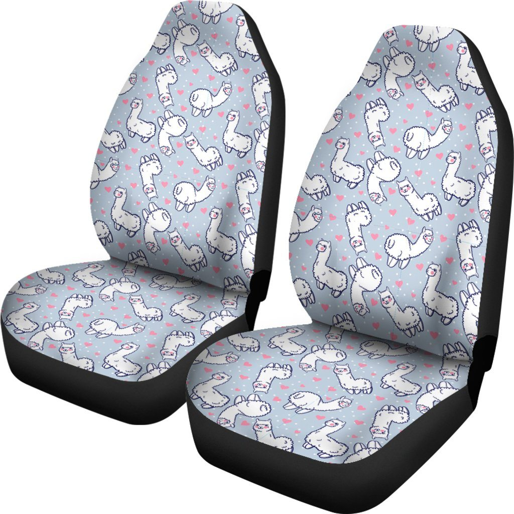 Llama Love Car Seat Covers Llama Car Accessories