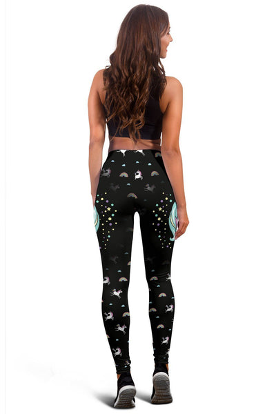 Unicorn Queen Women's Leggings Leggings