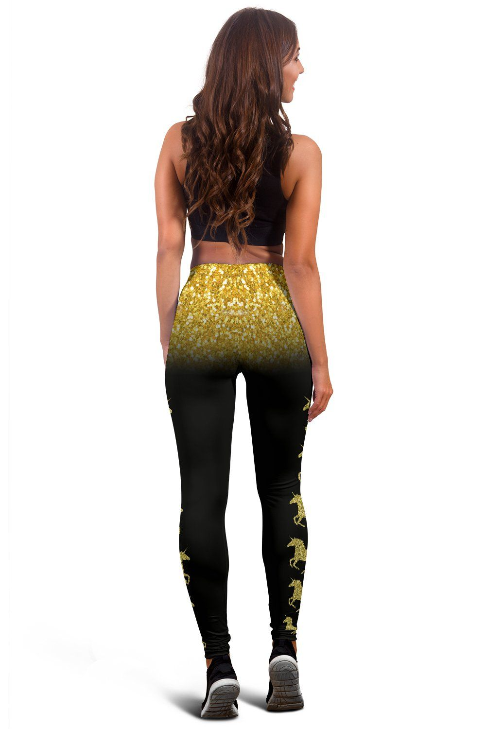 Unicorn Gold Women's Leggings - Express Delivery