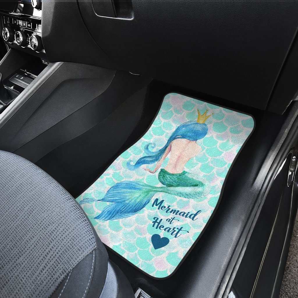 Mermaid At Heart Car Mat Set Mermaid Car Accessories