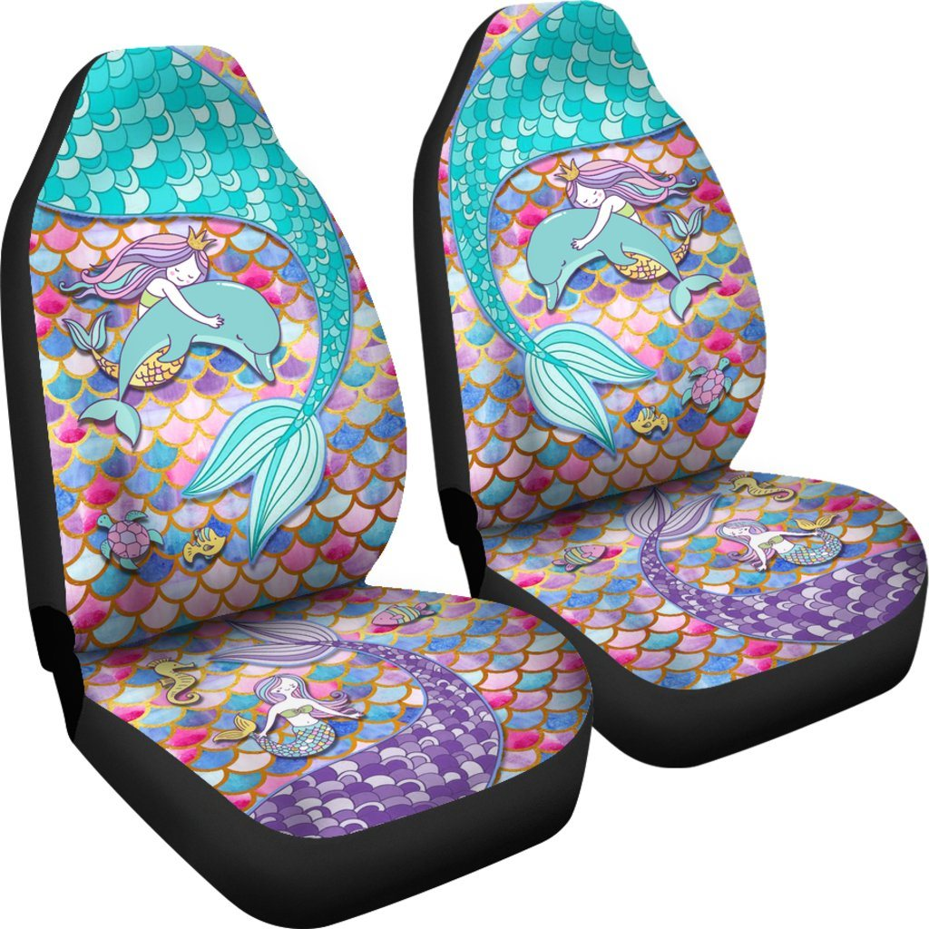 Mermaid Euphoria Car Seat Covers Mermaid Car Accessories