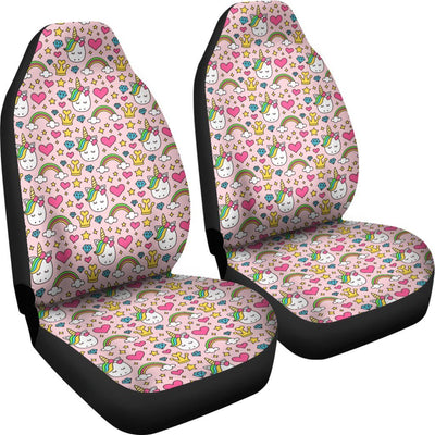 Unicorn Diamond Car Seat Covers - Express Delivery