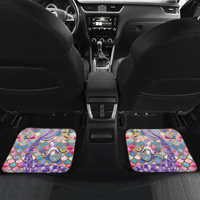 Mermaid Euphoria Car Mat Set Mermaid Car Accessories