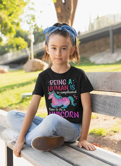 Time To Be A Unicorn Youth T-Shirt Apparel