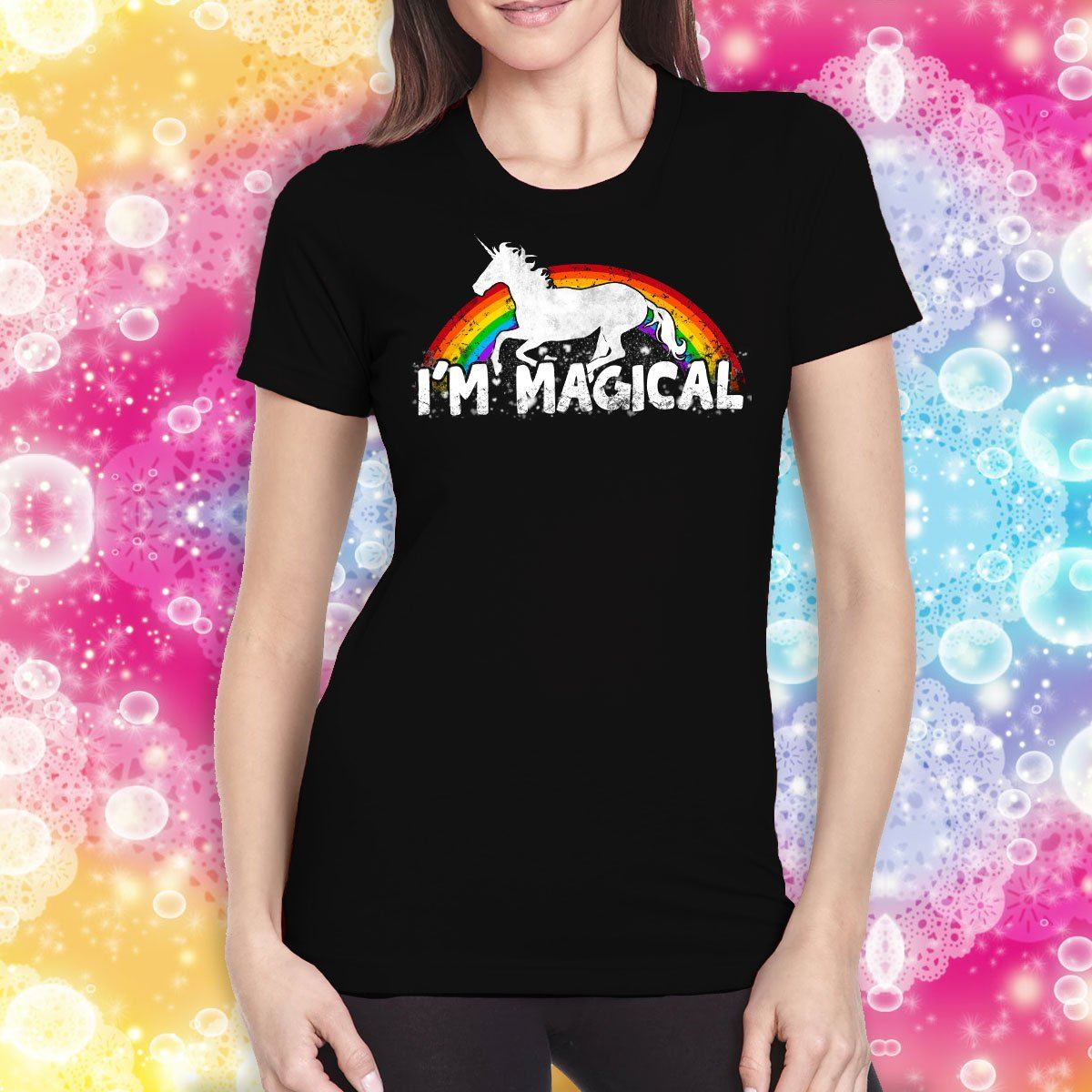 I'm Magical Ladies' T-Shirt Apparel