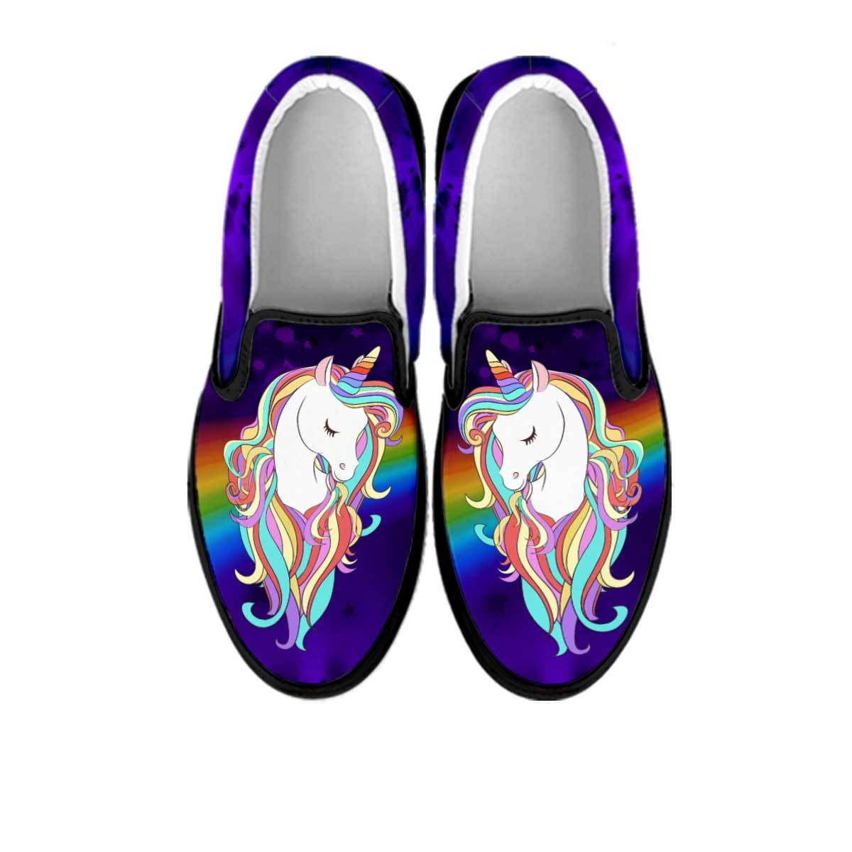 Magical Unicorn Slip On Sneakers sneakers