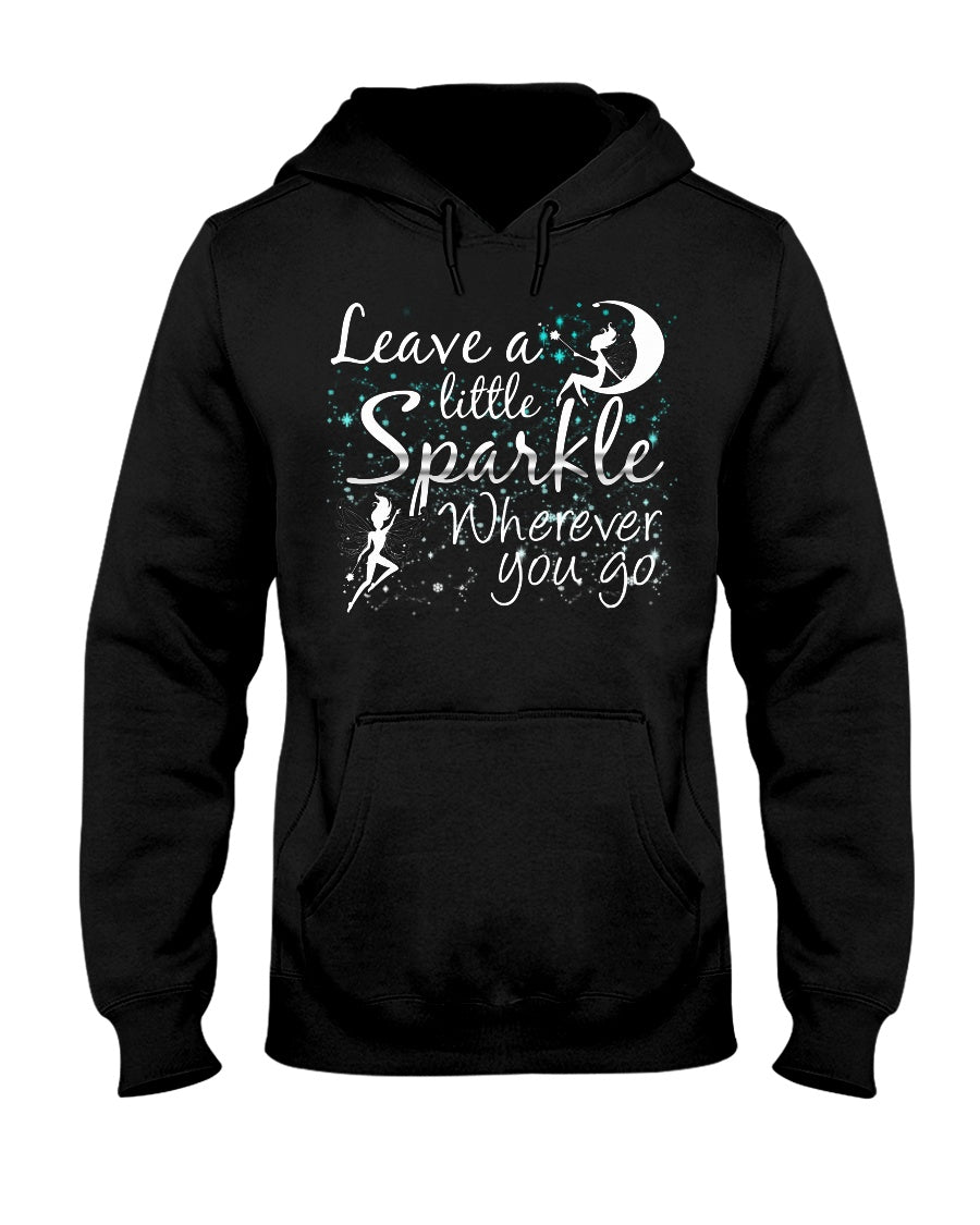Leave A Little Sparkle Fairy Adult Hoodie