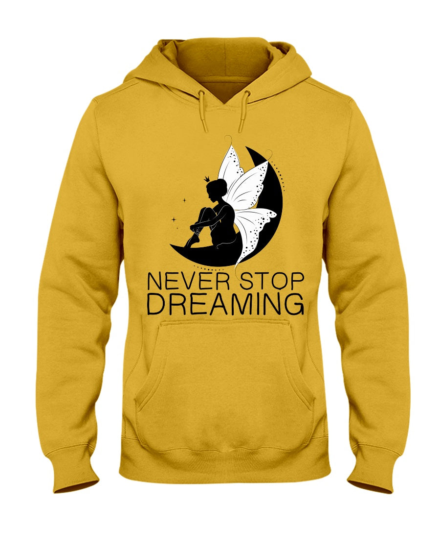 Never Stop Dreaming Fairy Adult Hoodie