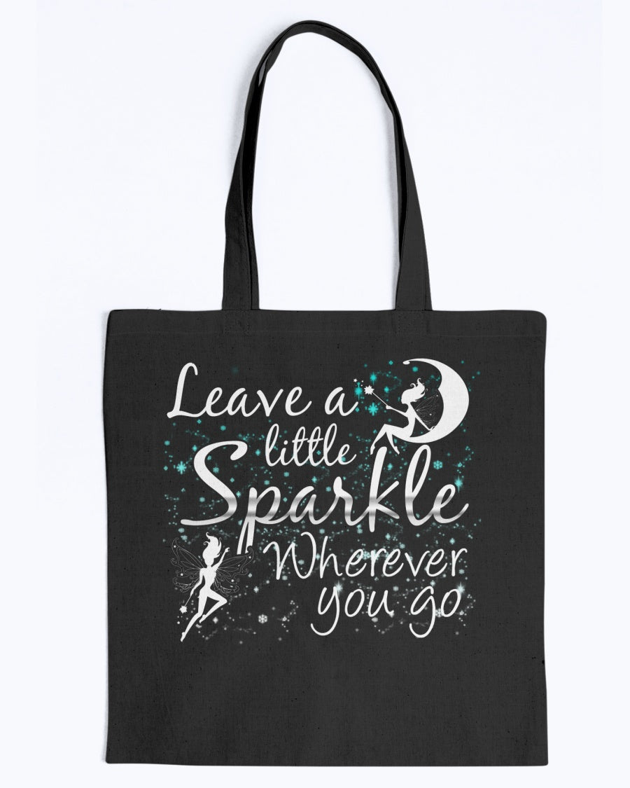 Leave A Little Sparkle Fairy Tote Bag