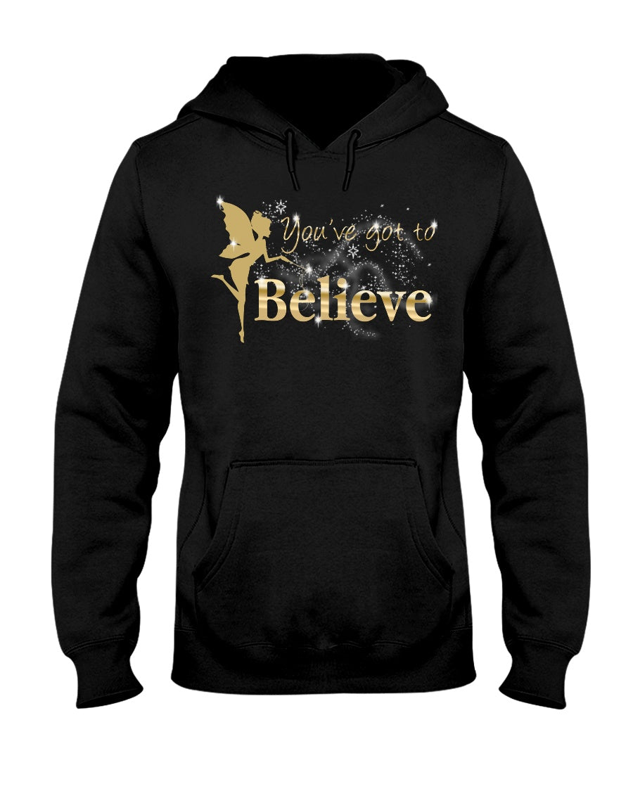 You've Got To Believe Fairy Adult Hoodie