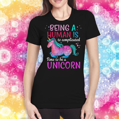 Time To Be A Unicorn Women's T-Shirt Apparel