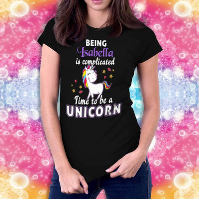 Time To Be A Unicorn Personalized T-Shirt Apparel