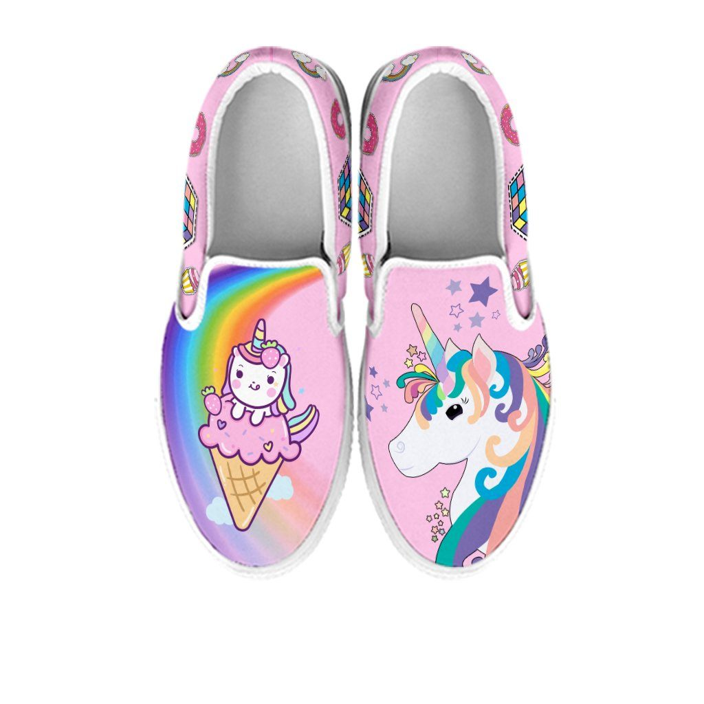 Twinkle Unicorn Slip On Sneakers sneakers