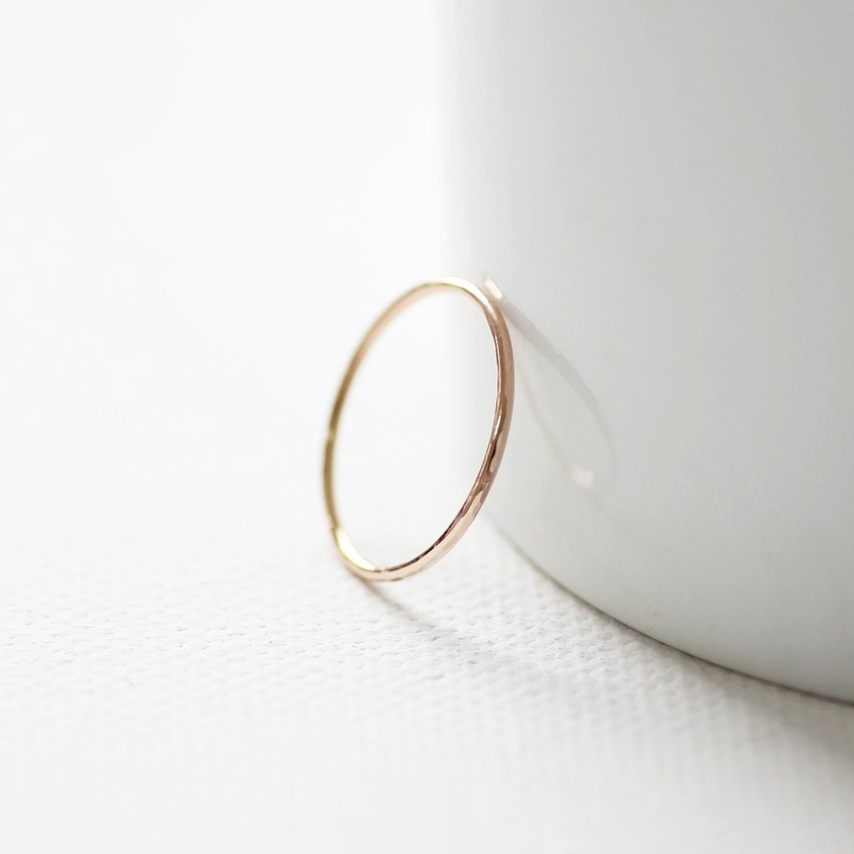 9ct Rose Gold Slim Ring