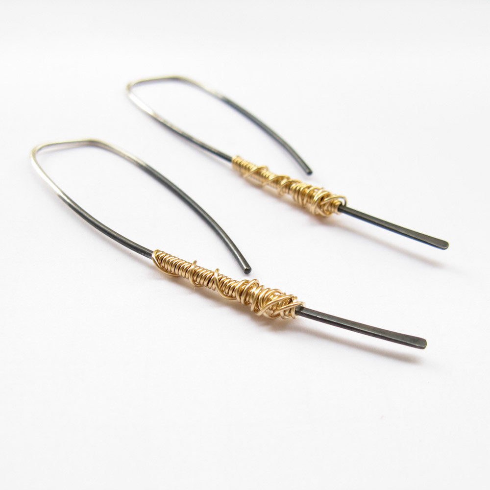 Simple Dangle Earrings Twig