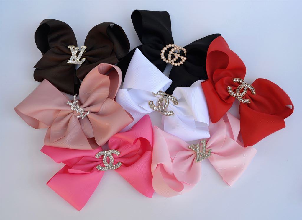 Designer Hair Bow 8''