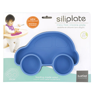 BLUE Car Siliplate
