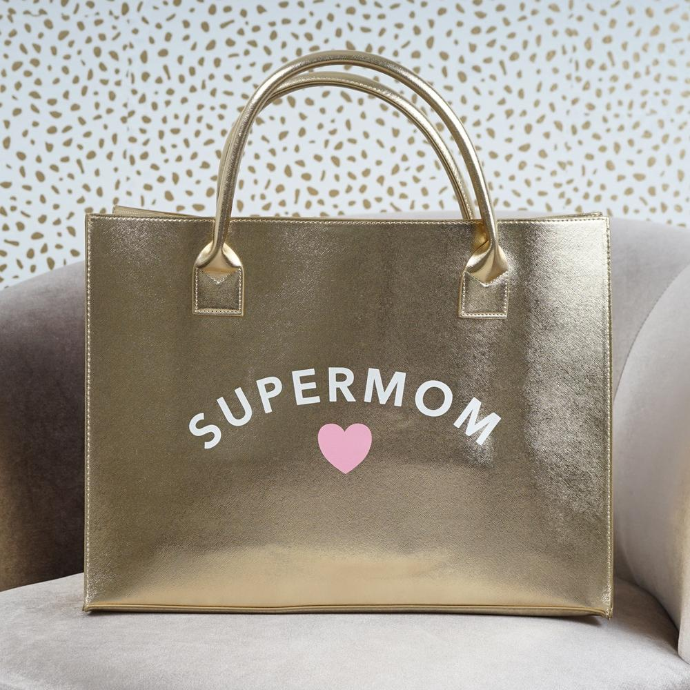 Mother's Day Super Mom Tote