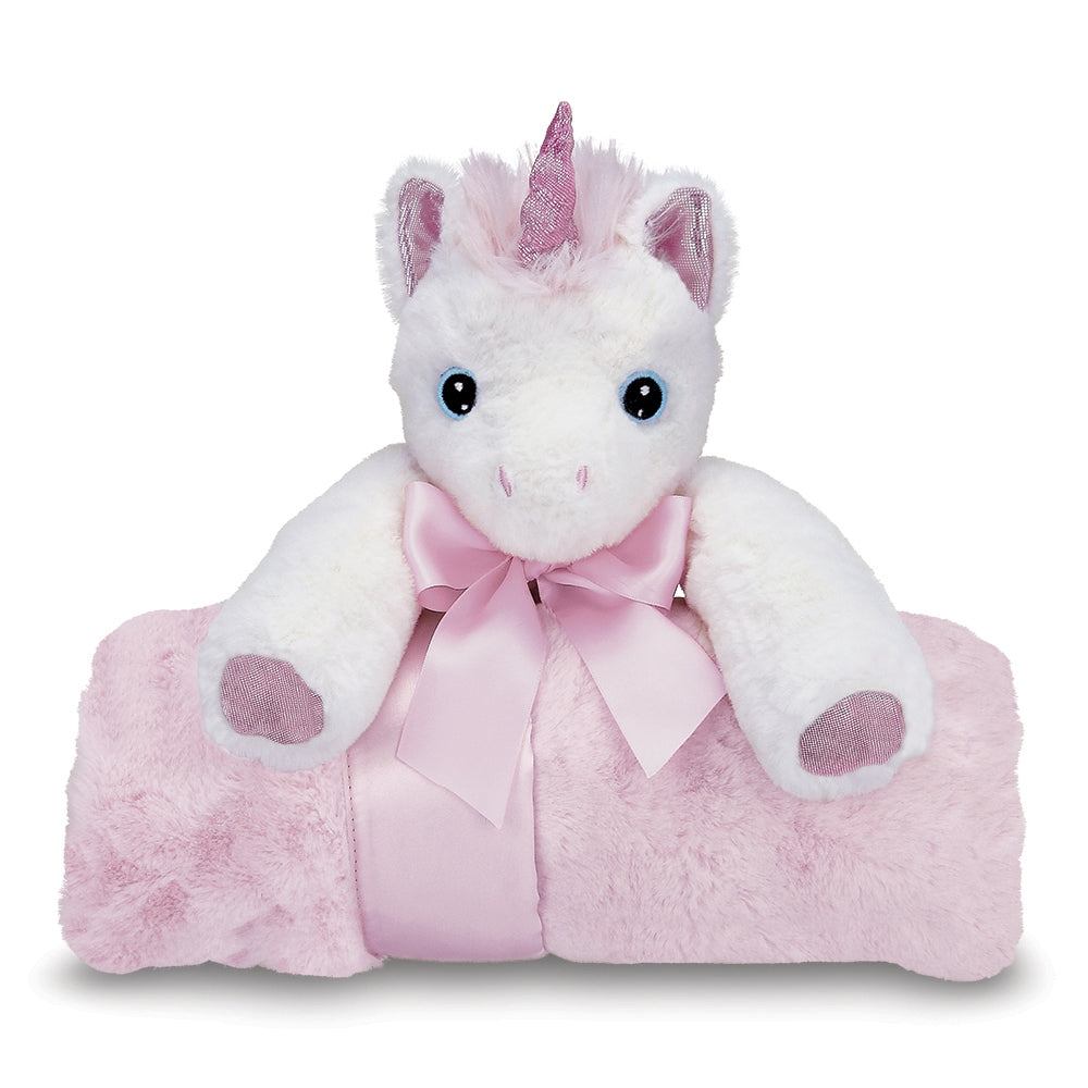 Cuddle Me Dreamer Unicorn Rolled Blanket