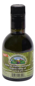 Certified Organic hemp seed oil