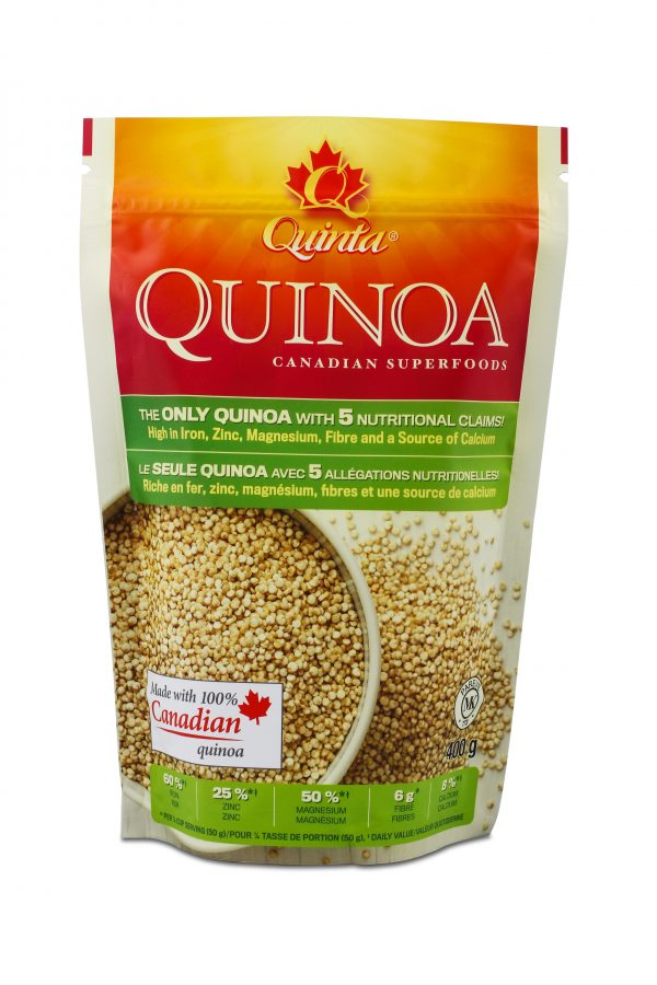 Ontario-grown quinoa