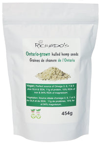 Ontario-grown Hulled Hemp Seeds