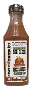 Crazy Mooskies No sugar added ISLAND SPICE BBQ sauce