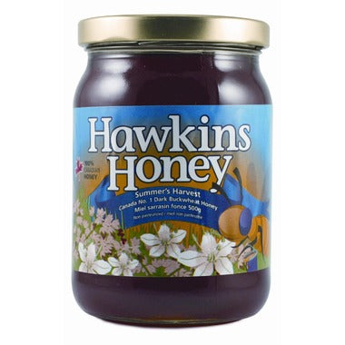 Hawkins Ontario buckwheat honey